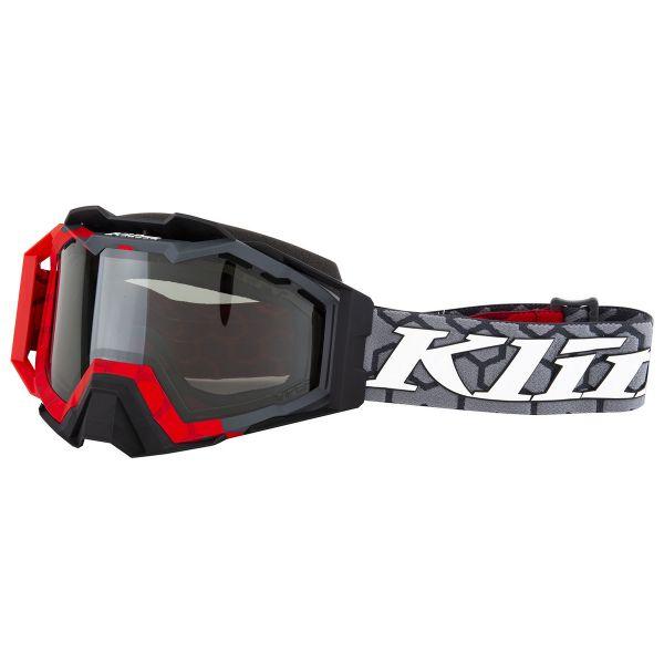 Ochelari Snowmobil Klim Ochelari Snow Viper Pro Hive Red Smoke Polarized 2021
