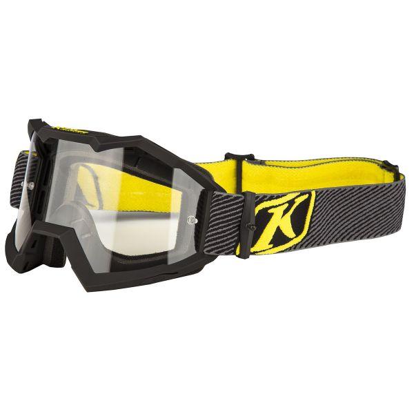 Ochelari MX-Enduro Klim Ochelari Viper Off Road Fade Black Clear Lens 2019