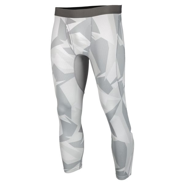 Underlayer Snow Klim Pantaloni Aggressor Cool 1.0 Light Gray Camo 2020