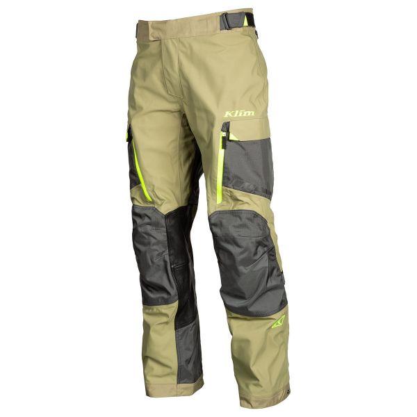 Pantaloni Textil Klim Pantaloni Carlsbad Sage Hi-Vis 2020