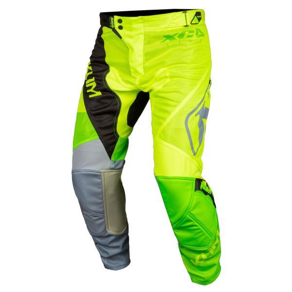 Pantaloni MX-Enduro Copii Klim Pantaloni Copii ITB XC Lite Electrik Lemonade 2020