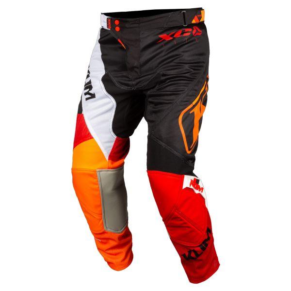 Pantaloni MX-Enduro Copii Klim Pantaloni Copii ITB XC Lite Orange Crush 2020