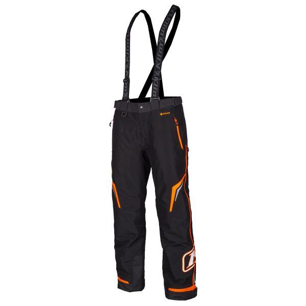 Pantaloni Snow - Copii Klim Pantaloni Copii Snow Insulated Kaos Strike Orange 2021