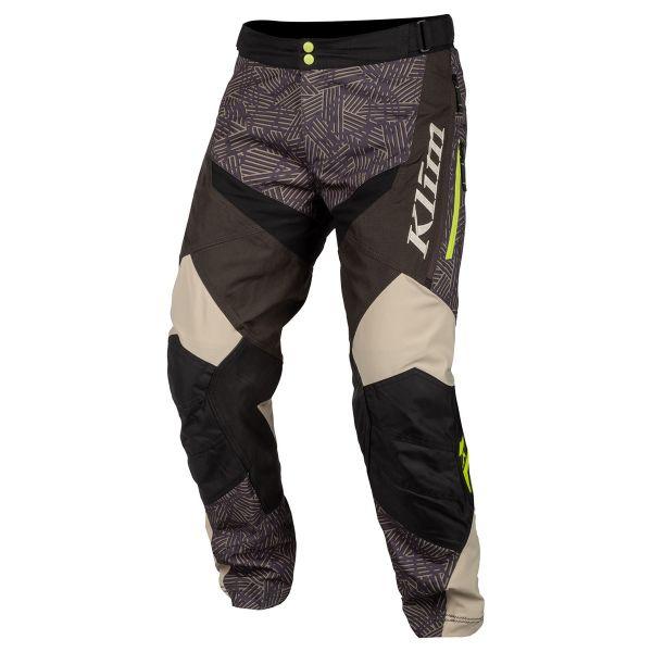 Pantaloni MX-Enduro Klim Pantaloni Dakar ITB Tan 2019