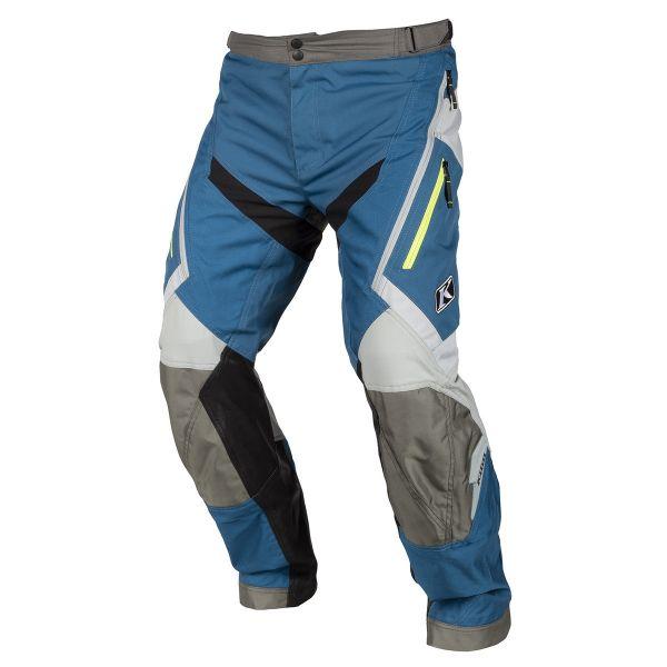 Pantaloni MX-Enduro Klim Pantaloni Dakar OTB Blue 2019