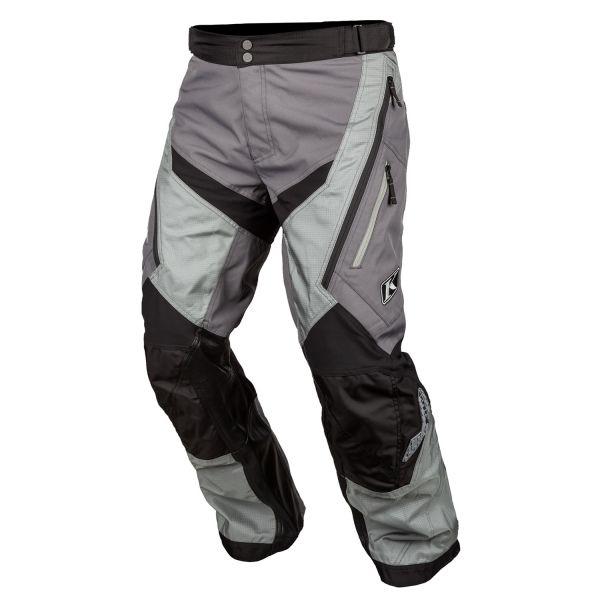 Pantaloni MX-Enduro Klim Pantaloni Moto MX Dakar Tall Monument Gray 2021