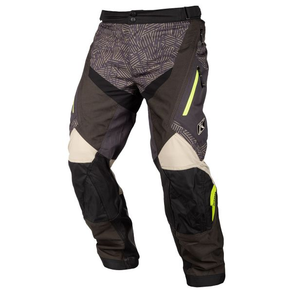 Pantaloni MX-Enduro Klim Pantaloni Dakar OTB Tan 2019