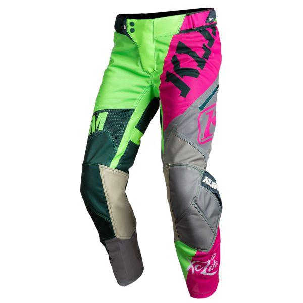 Pantaloni MX-Enduro Klim Pantaloni Moto MX Dama XC Lite Fruit Punch 2021
