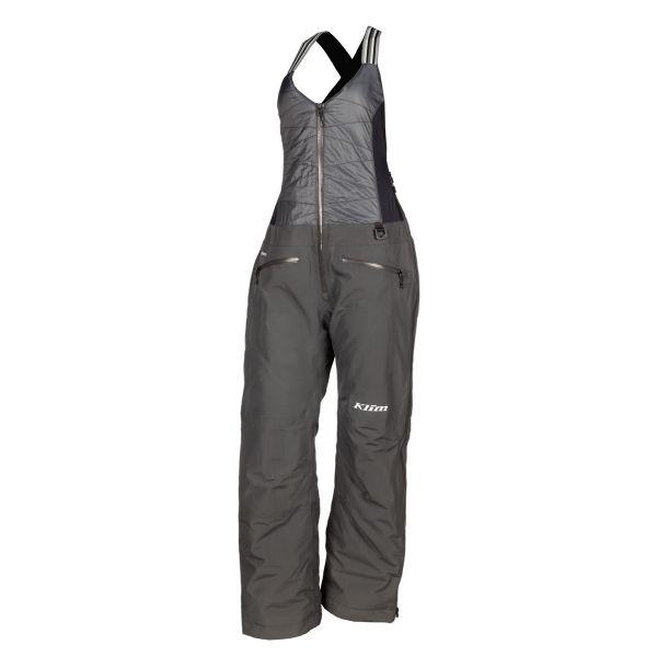 Pantaloni Snow - Dama Klim Pantaloni Dama Snow Insulated Allure Bib Asphalt 2021
