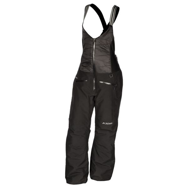 Pantaloni Snow - Dama Klim Pantaloni Dama Snow Insulated Allure Bib Tall Black 2021