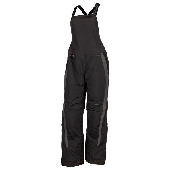 Pantaloni Snow - Dama Klim Pantaloni Dama Snow Insulated Strata Bib Short Black - Asphalt 2021