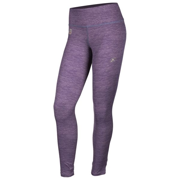 Underlayer Snow Klim Pantaloni Dama Solstice 1.0 Black Deep Purple Heather 2020