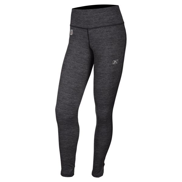 Underlayer Snow Klim Pantaloni Dama Solstice 2.0 Black Heather 2020
