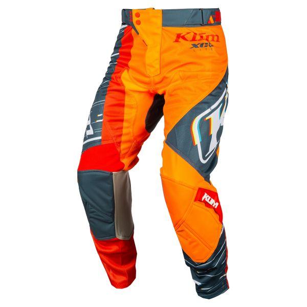 Pantaloni MX-Enduro Copii Klim Pantaloni Moto Copii MX XC Lite Striking Petrol 2021