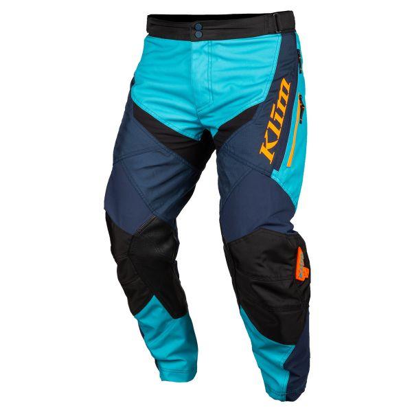 Pantaloni MX-Enduro Klim Pantaloni Moto MX Dakar In The Boot Arctik Blue 2021