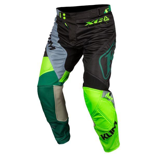 Pantaloni MX-Enduro Klim Pantaloni Moto MX XC Lite Electrik Gecko 2021