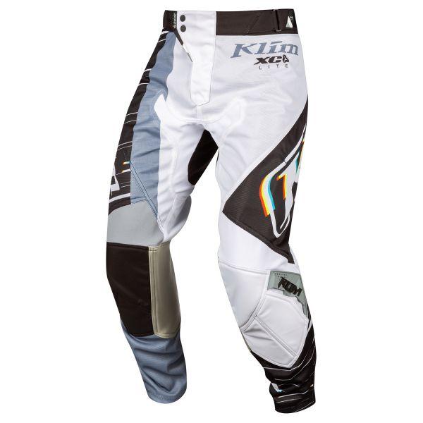 Pantaloni MX-Enduro Klim Pantaloni Moto MX XC Lite Statik Black 2021