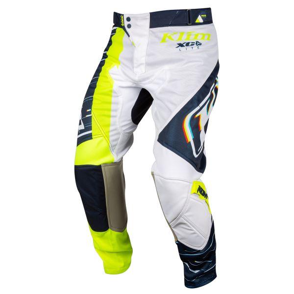 Pantaloni MX-Enduro Klim Pantaloni Moto MX XC Lite Vivid Blue 2021