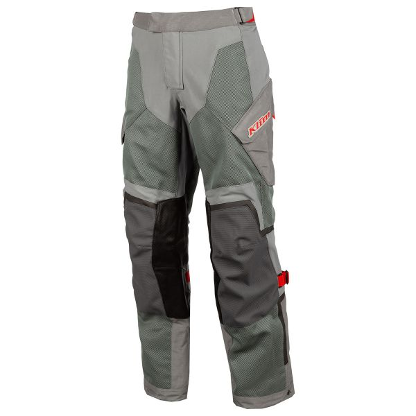 Pantaloni Moto Textil Klim Pantaloni Moto Textil Baja S4 Cool Gray-Redrock 2021