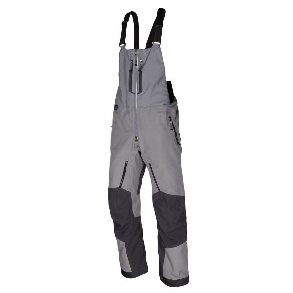 Pantaloni Snow Klim Pantaloni Snow Bib Togwotee Gray 2020
