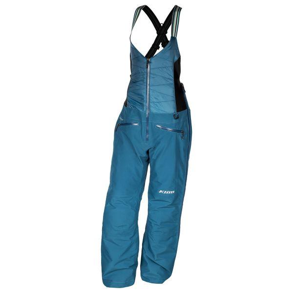 Klim Pantaloni Snow Dama Bib Allure Blue 2020