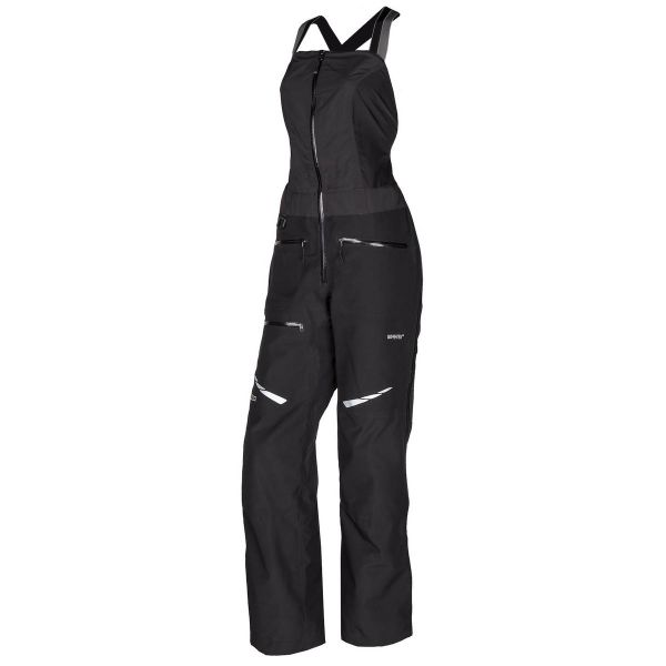 Klim Pantaloni Snow Dama Bib Alpine Black 2020