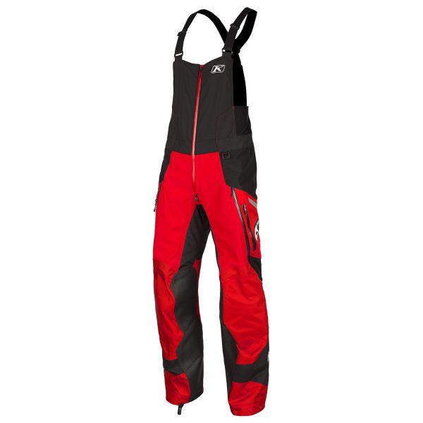 Pantaloni Snow Klim Pantaloni Snow Havoc Bib Red 2020
