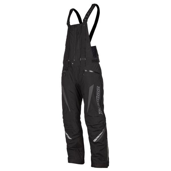 Pantaloni Snow Klim Pantaloni Snow Insulated Keweenaw Bib Asphalt 2021
