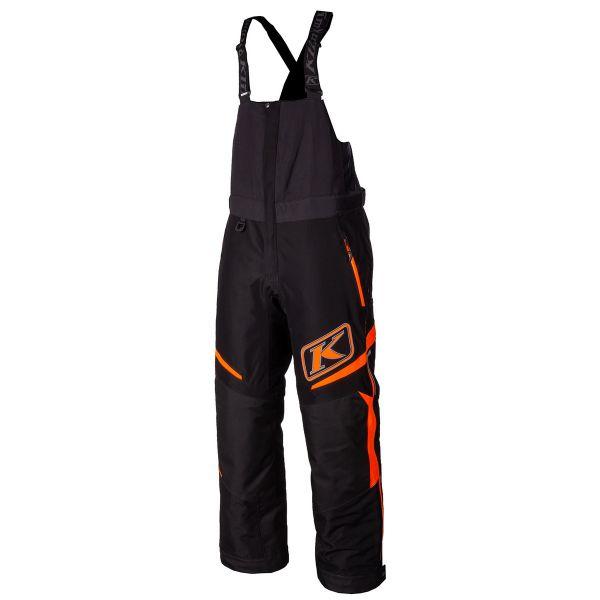 Pantaloni Snow Klim Pantaloni Snow Insulated Klimate Bib Strike Orange 2021