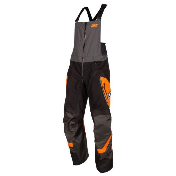 Pantaloni Snow Klim Pantaloni Snow Non-Insulated Havoc Bib Strike Orange 2021