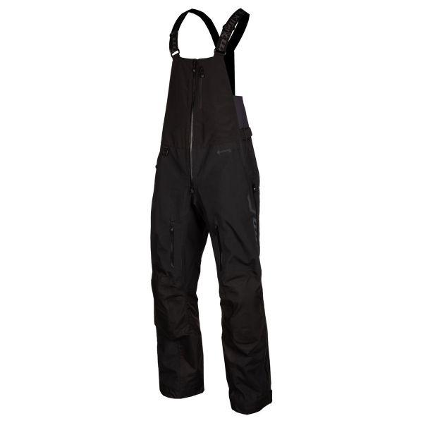 Pantaloni Snow Klim Pantaloni Snow Non-Insulated Togwotee Bib Short Black Asphalt 2021