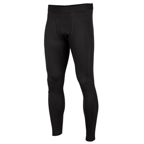Underlayer Snow Klim Pantaloni Teton Merino Wool Black 2020