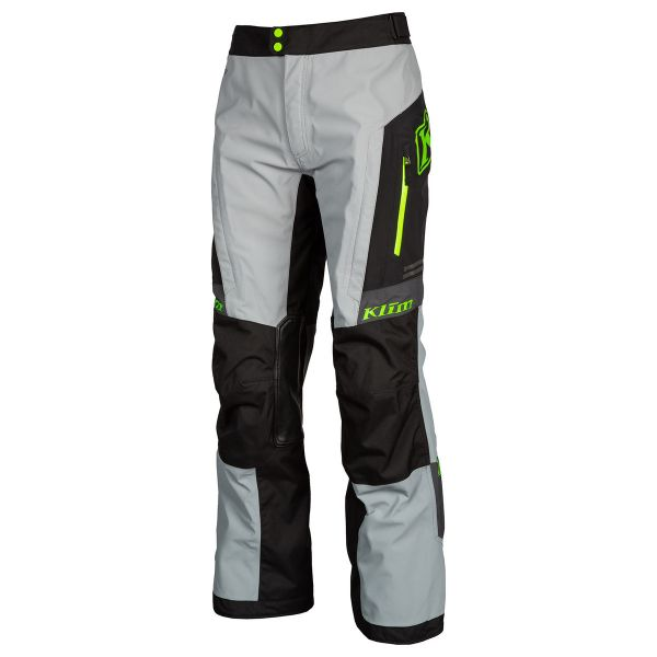 Klim Pantaloni Traverse Tall Gray Electrik Gecko 2020