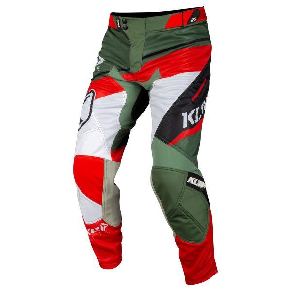 Pantaloni MX-Enduro Klim Pantaloni XC Lite Green 2019