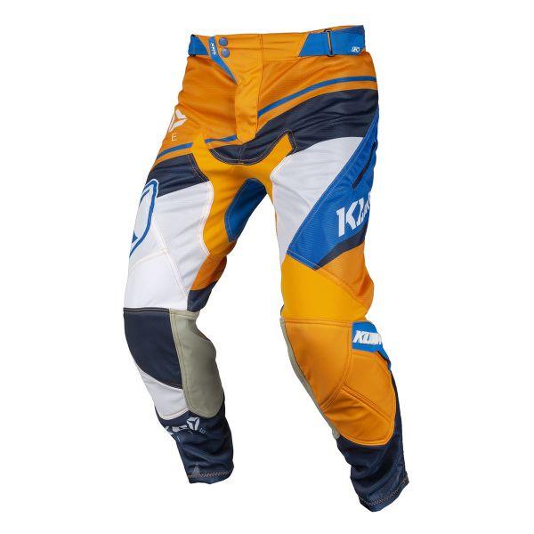 Pantaloni MX-Enduro Klim Pantaloni XC Lite Orange/Blue 2019