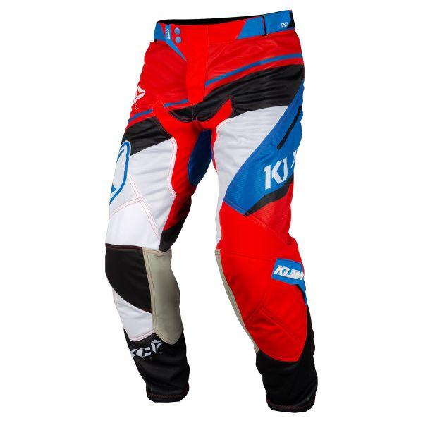 Pantaloni MX-Enduro Klim Pantaloni XC Lite Red/Blue 2019