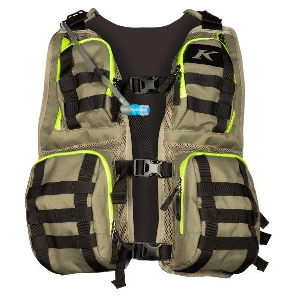 Rucsaci Hidratare Klim Rucsac MX Hidratare Moto Arsenal Vest Sage - Hi-Vis 2021