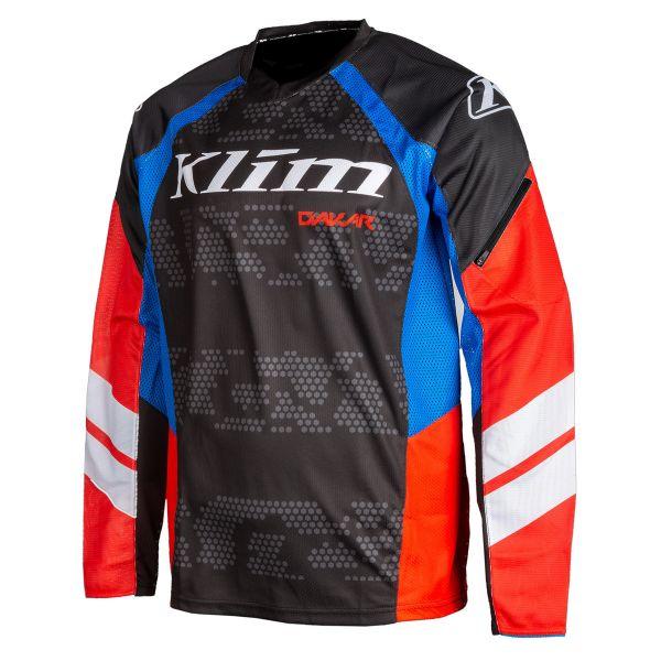 Tricouri MX-Enduro Klim Tricou Moto MX Dakar Redrock 2021
