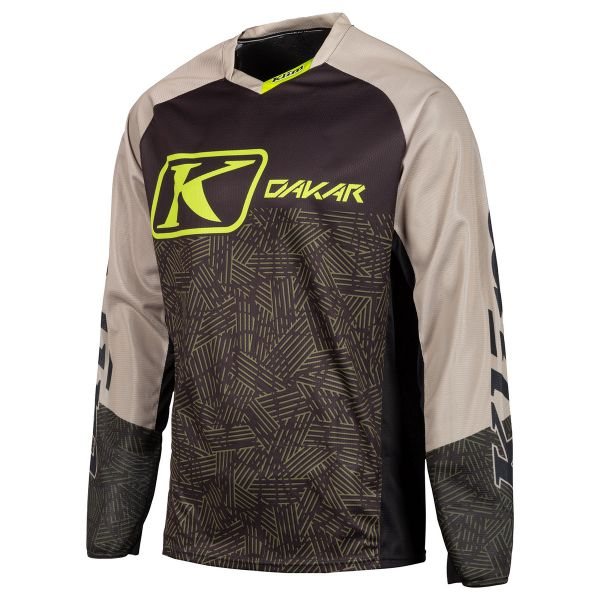 Tricouri MX-Enduro Klim Tricou Dakar Tan 2019