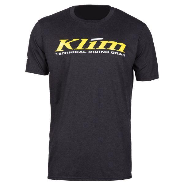 Tricouri/Camasi Casual Klim Tricou K Corp SS T Black/Yellow 2020
