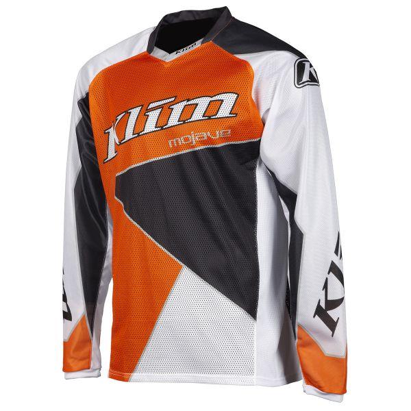 Tricouri MX-Enduro Klim Tricou Mojave Orange/Gray 2019
