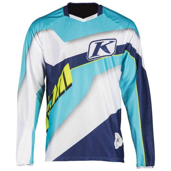 Tricouri MX-Enduro Klim Tricou XC Lite Blue 2019