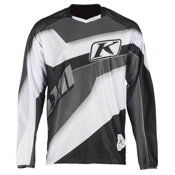 Tricouri MX-Enduro Klim Tricou XC Lite Gray 2019