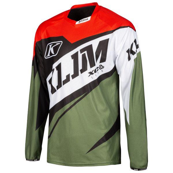Tricouri MX-Enduro Klim Tricou XC Lite Green 2019