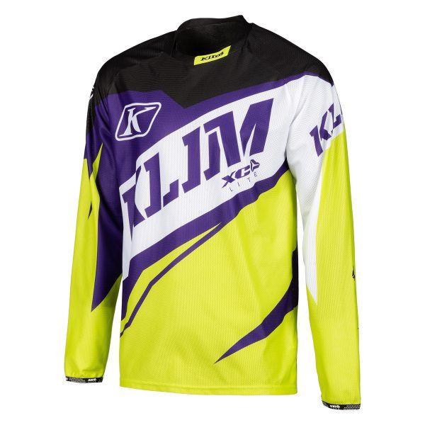 Tricouri MX-Enduro Klim Tricou XC Lite Yellow 2019
