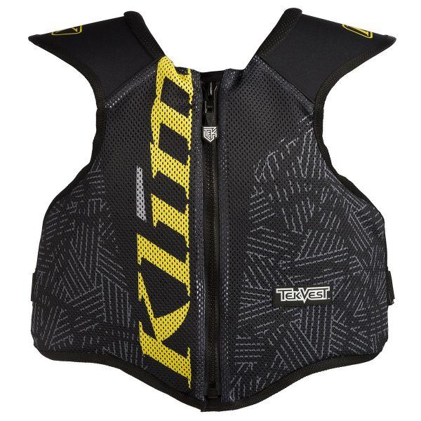 Protectii Piept-Spate Klim Vesta Protectie Tek Black/Yellow 2019