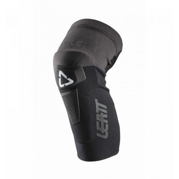 Genunchiere si Orteze Leatt Genunchiere Moto MX Airflex Hybrid Black/Grey 2021