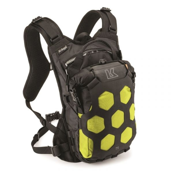 Rucsaci Adventure Kriega Rucsac Hidratare Trail 9 Black/Yellow Fluo 2020