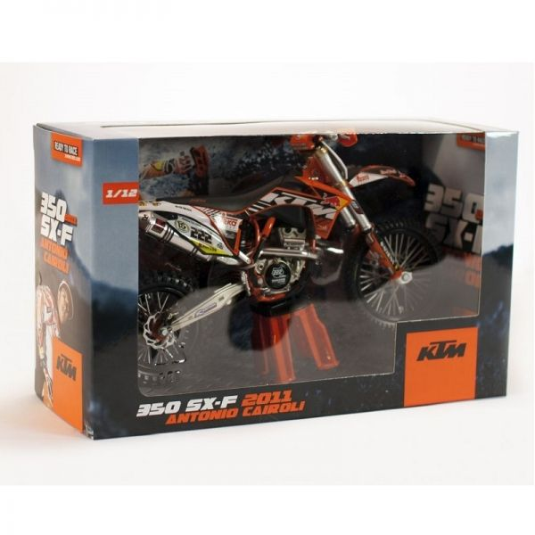 Machete Off Road KTM Macheta  Antonio Cairoli (No 222) 1:12