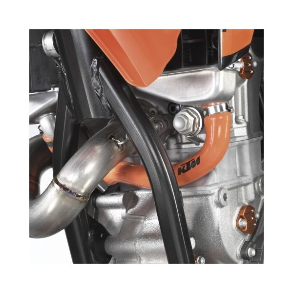 KTM Sistem Racire KTM SET FURTUNE RADIATOR PORTOCALII Model 125/150 SX 11-14